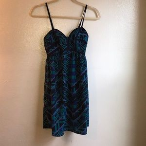 Xhilaration Pattern Tank Top Dress
